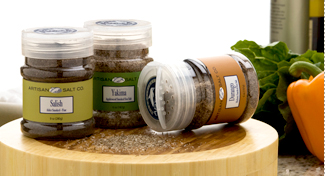 Artisan Salt Company Flip-Top Jars